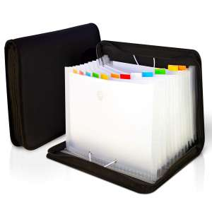 EFOP Accordian File Organizer 13 Pockets and 4 Storage Pockets
