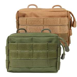 Novemkada 2 Pack MOLLE Pouches Tactical Compact Utility EDC Pouch