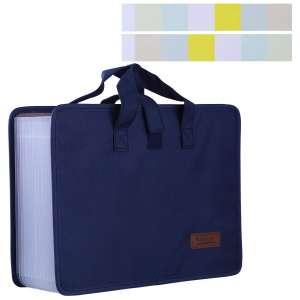 Antner 13 Pockets Expanding Filer Folder Organizer