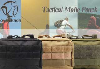 Tacticle Molle Pouches