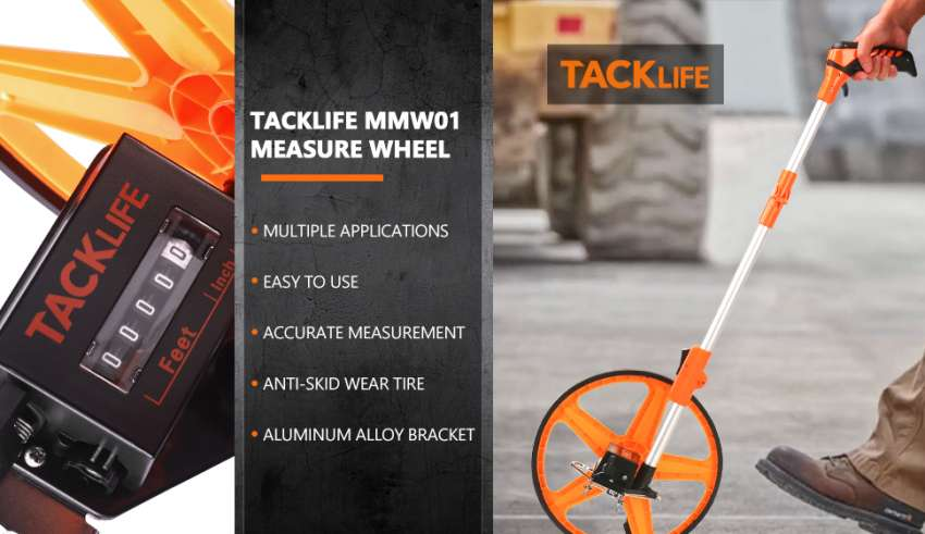 measuring wheel meter