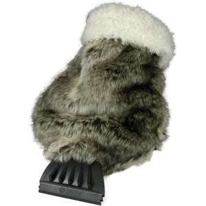 SubZero Hopkins 13929 Faux Fur Ice Scraper Mitt