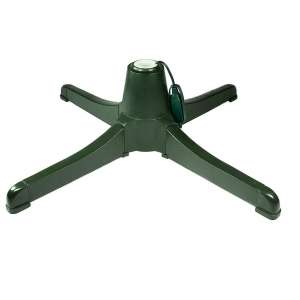 Teal Turtle Winter Wonder 3 two-prong outlets Rotating Christmas Tree Stand