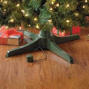 BrylaneHome Musical Rotating Christmas Tree Stand