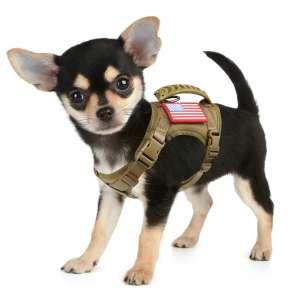 HanShengday Tactical Service Dog Harness Vest K9