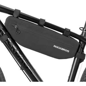ROCKBROS Waterproof Bike Frame Bag Bicycle Pouch Storage Bag