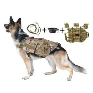 TCS Tri Cloud Sports Dog Tactical Harness