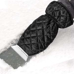 Zmoon Windshield Snow Ice Scraper Mitt