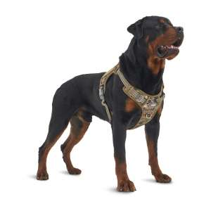 Auroth No Pulling Adjustable Tactical Dog Harness