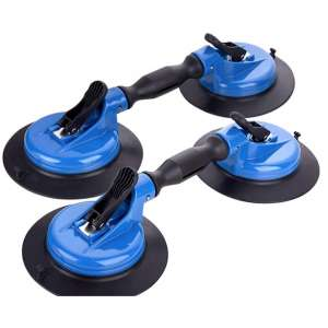 IMT Heavy-Duty Vacuum Suction Cup, 330lb Horizontal Suction