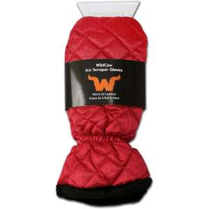 WildCow Windshield Snow Ice Scraper Mitt