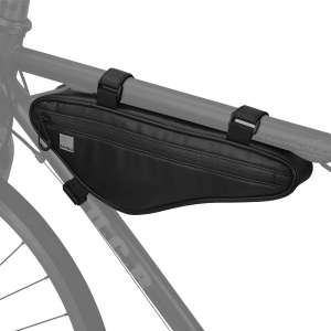 Roswheel 121469 Bike Storage Triangle Frame Bag, Water Resistant Pouch Storage Bag