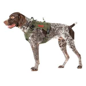 OneTigris Adjustable Tactical Dog Harness with Handle