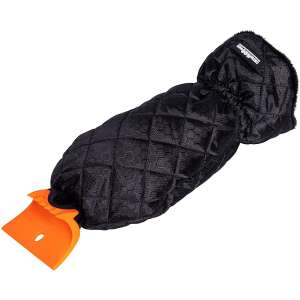 BIRDROCK HOME Car Windshield Ice Scraper Mitt