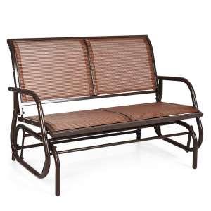 Giantex 2 People Outdoor Swing Chair