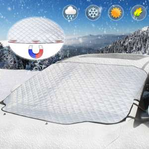 U UBEGOOD Car Windshield Snow Cover with Magnetic Edges