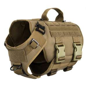 ICEFANG Tactical Dog Operation Harness with 6X Buckle