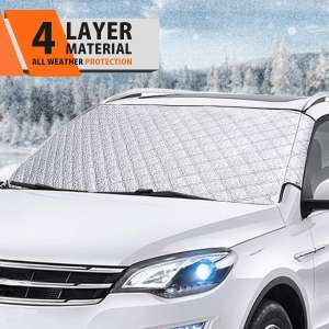 MATCC Windshield Snow Cover with 4 Layers