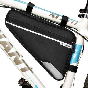opamoo Bicycle Triangle Frame Bag Cycling Road Mountain Accessories Pouch Bag