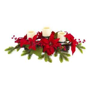 Lubao Artificial Christmas Candle Holder