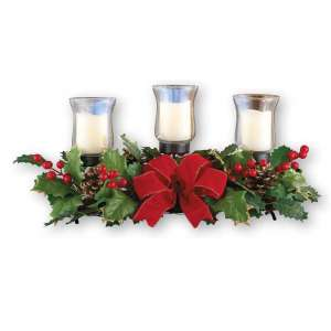 Collections Etc Candle Holder Centerpiece