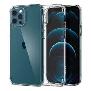 Spigen Crystal Clear iPhone: iPhone 12 Pro Full Body Case