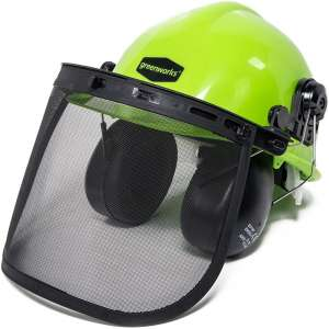 Greenworks Safety Helmet with Earmuffs GWSH0