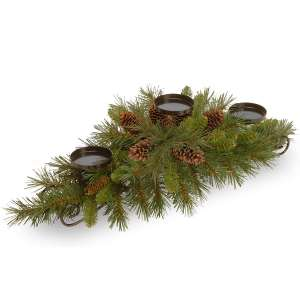 National Tree Pine Cone Artificial Christmas Collection Centerpiece
