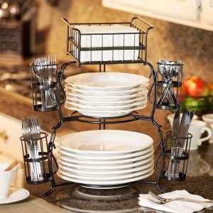 Giftburg Stackable Buffet Caddy (7 pieces)