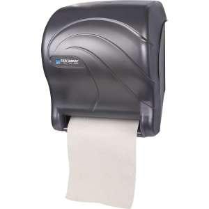 San Jamar T8090TBK Automatic Paper Towel Dispenser, Black Pearl