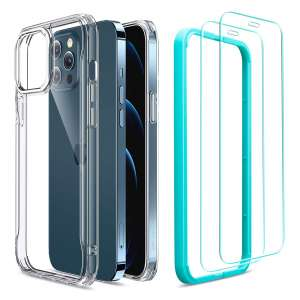 ESR Sidekick iPhone 12 Pro Case: iPhone 12 Compatible Clear Case