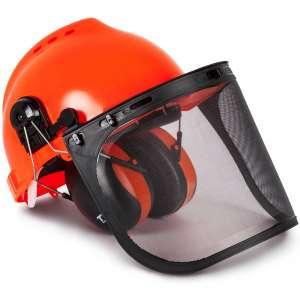 TR Industrial TR88011 Forestry Helmet with Ear Muffs