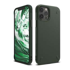 Ringke Onyx Full Body Protective Dark Green Case for iPhone 12 Pro and iPhone 12