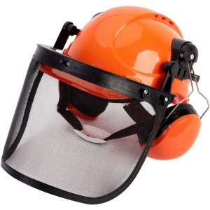 TODOCOPE Forestry Helmet with Ear Muffs & Face Shield