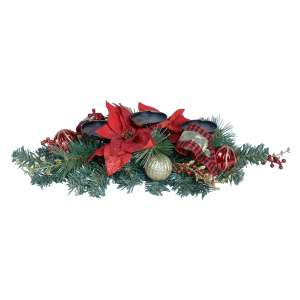 TenWaterloo Christmas Candle Holder Centerpiece