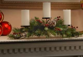 Artificial Christmas Centerpieces