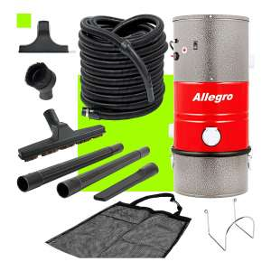 Allegro Poco PKU31001 MU3100 Wall Mounted Garage Vacuum