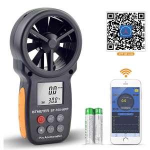 BTMETER Digital Wind Speed Anemometer