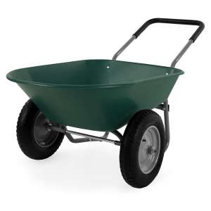 Best Choice Products 2-Wheel Home Utility Wheelbarrow