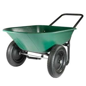 Garden Star Marathon Yard Rover 2 Tire Wheelbarrow
