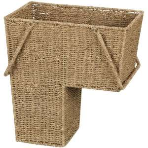 Household Essentials ML-5647 Stair Basket with a Handle