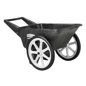 Rubbermaid Commercial Big Wheel Cart 200lbs Wheelbarrow