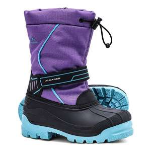 ALEADER Insulated Waterproof Boys Girls Snow Cold-Weather Boots
