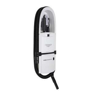 GarageVac GH120-W White Surface Mounted Vacuum