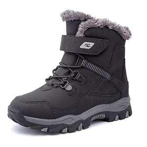 HOBIBEAR Outdoor Kids Snow Boots Hiking Boots