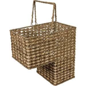 Trademark Innovations 16-Inch Stair Basket