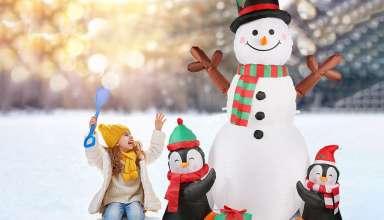 Christmas Inflatable Snowman
