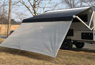 RV Awning Sunscreen