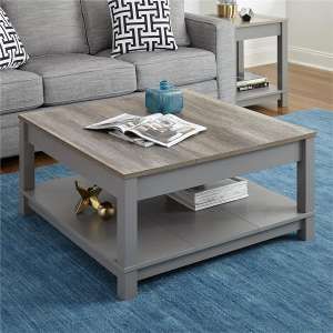 Ameriwood Home Carver Gray Coffee Table