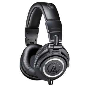 Audio-Technica (ATH-M50x) Professional DJ Headphones